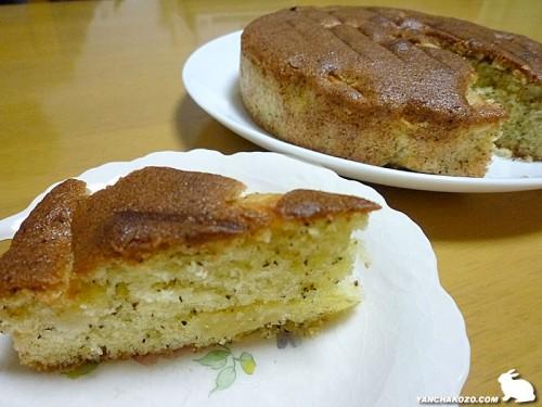 リンゴと紅茶のパウンドケーキ